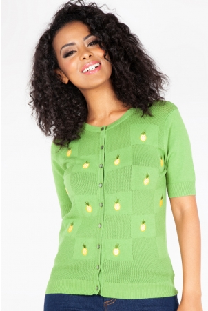Peyton Pineapple Cardigan