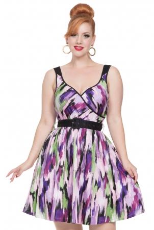 Miranda Flared Cotton Dress