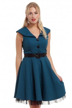 Carla Mesh Underskirt A-line Dress