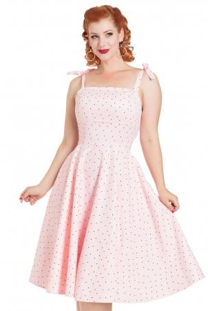 Hannah Polka Dot Dress