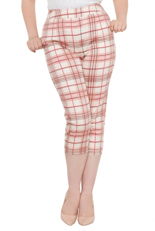Lola Lou Cropped Retro Trousers
