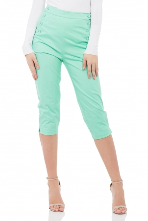 Becky Green High Waist Trousers