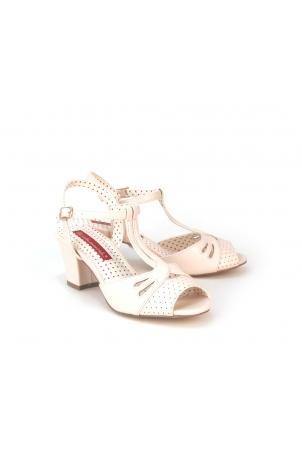 Reanna Mid Heel Sandal by B.A.I.T