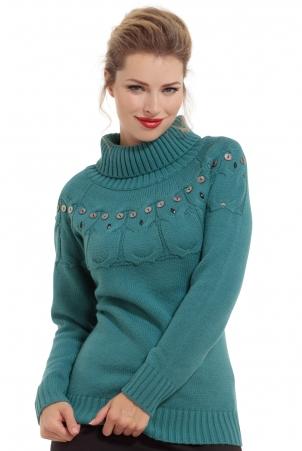 Sammie Turtleneck Owl Sweater