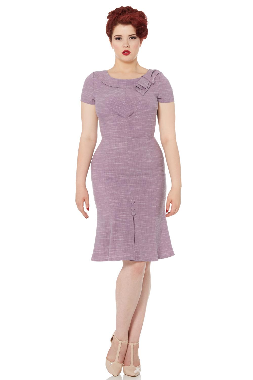 Gabriela Pastel Purple Wiggle Dress