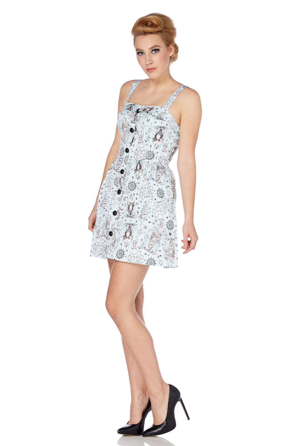 Patti Nautical Day-dress