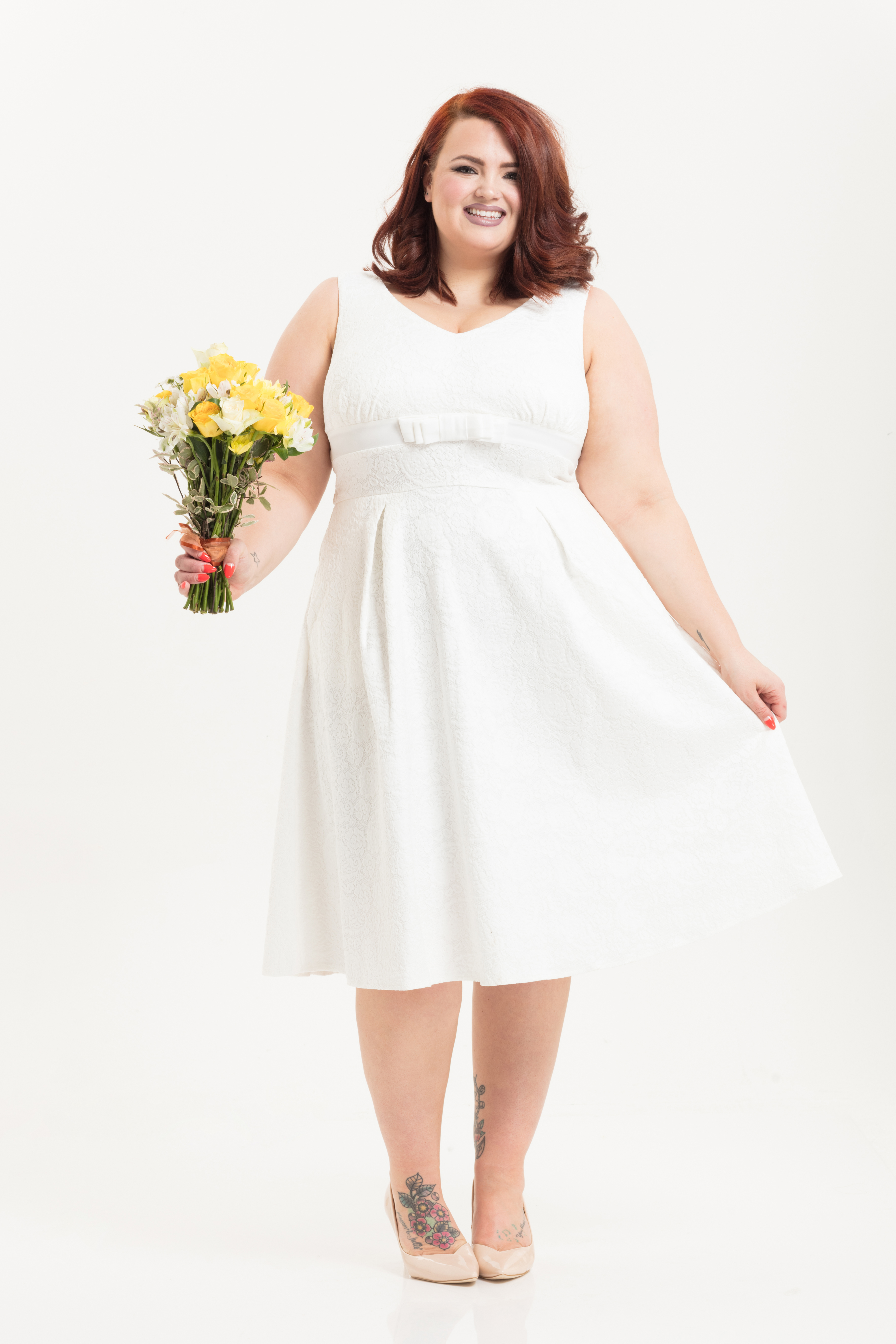Monroe Bridal Plus Size Dress
