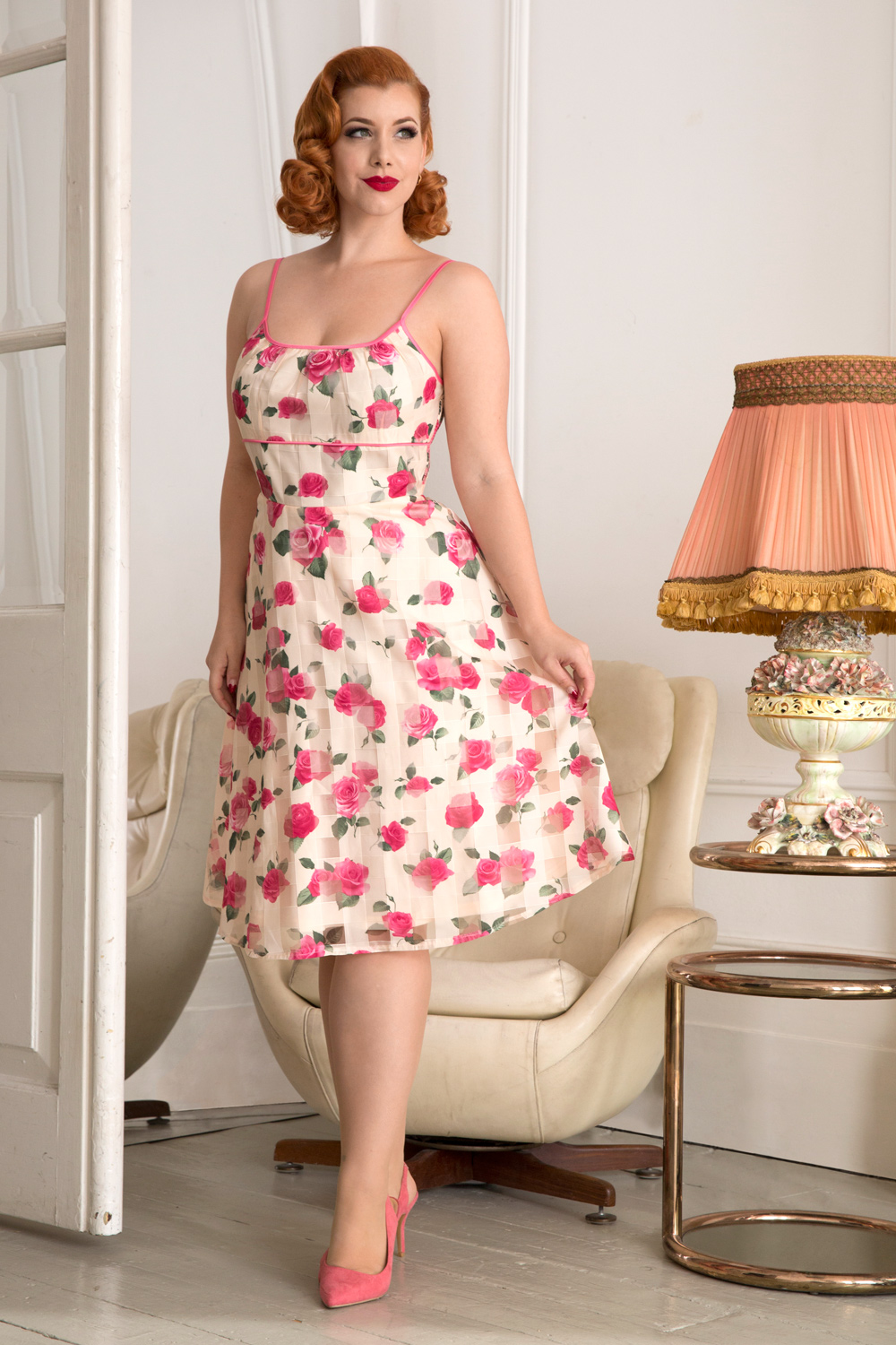 Tabitha Roses Print Dress