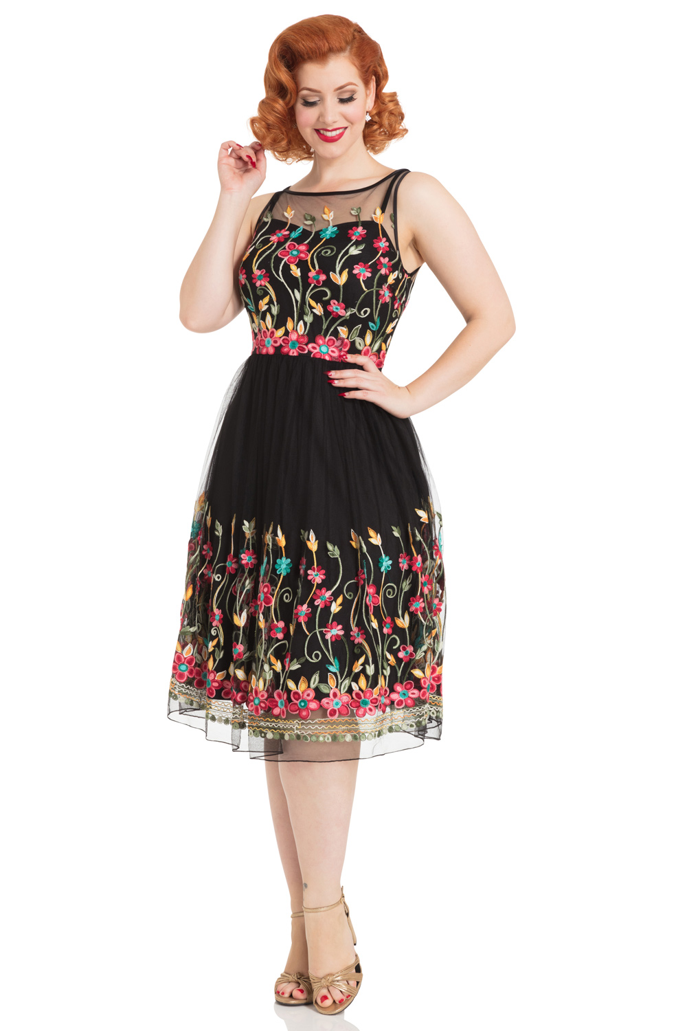Winifred Floral Dress