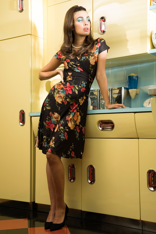 Sophia Floral Wrap Dress
