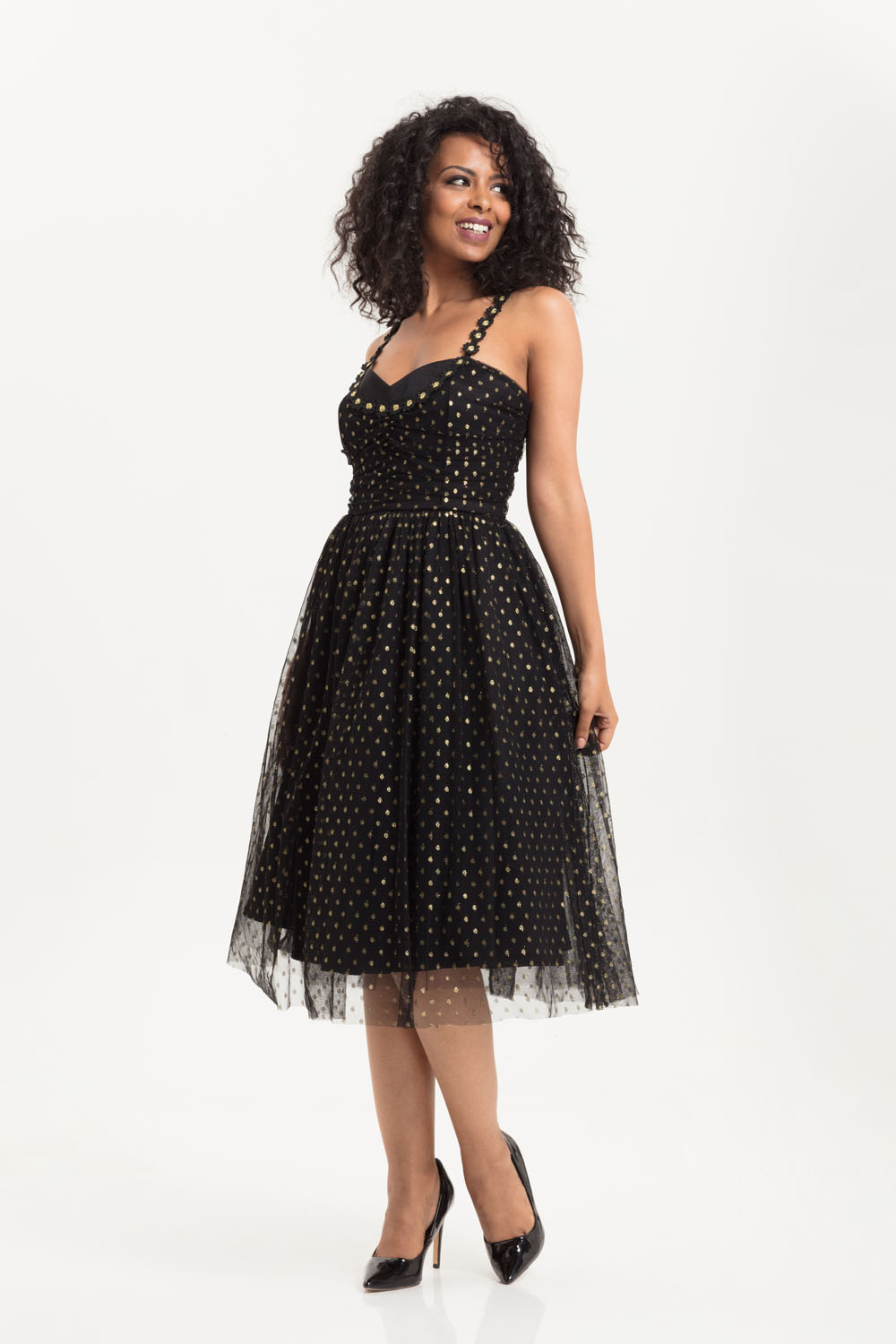 Emily 50s Inspired Prom Style Dress