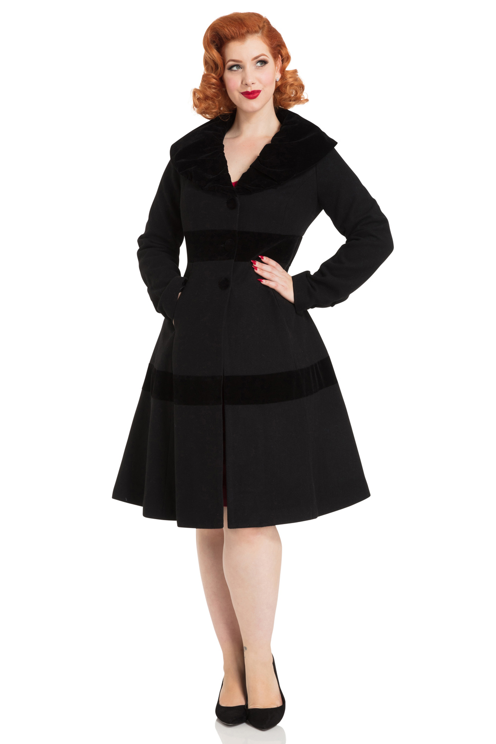 Thora Velvet Trim Jacket