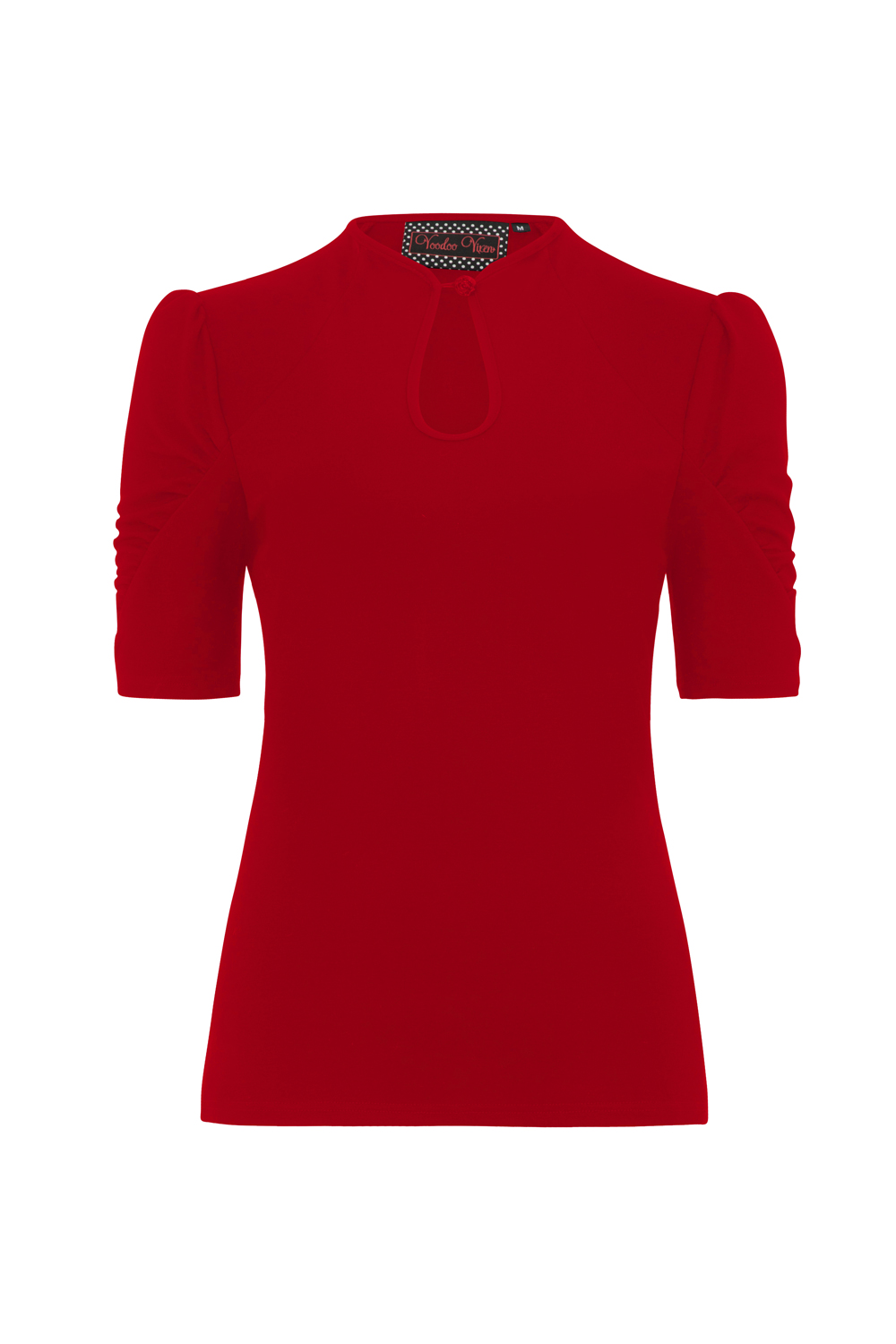 Dita Teese Red Pinup Top