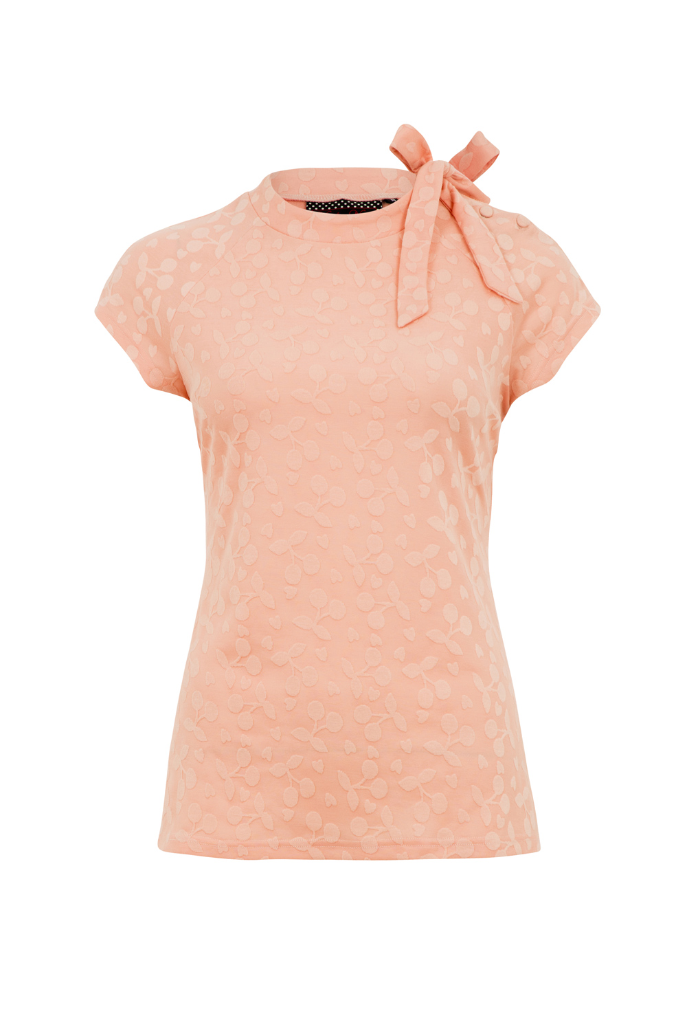 Ashlea Pink High Neck Top