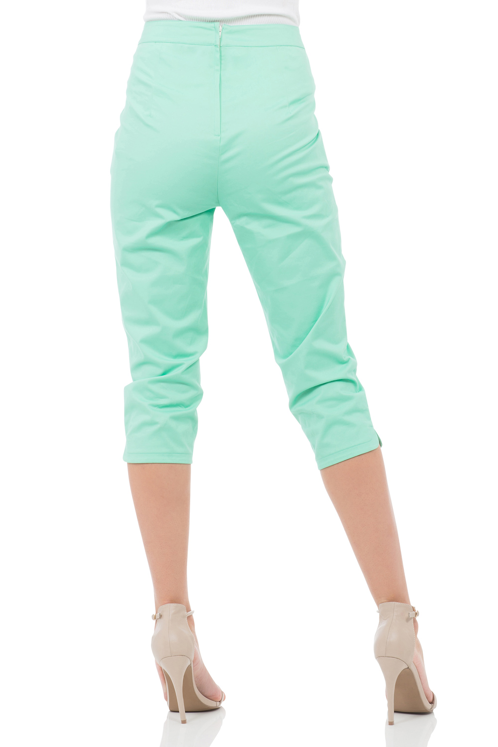 Becky Green High Waist Trousers