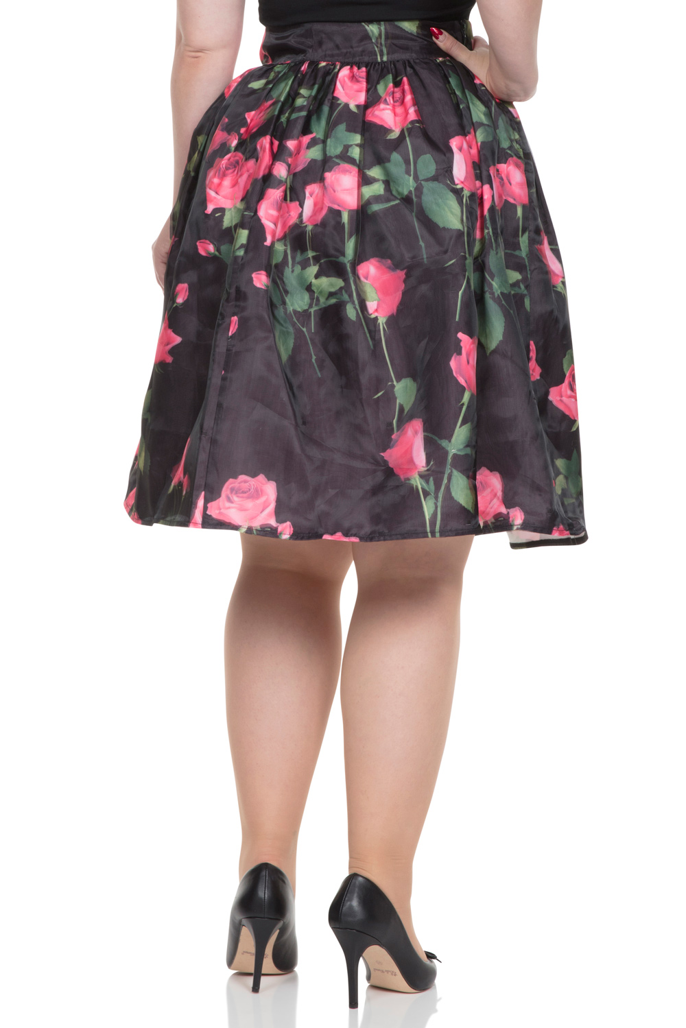 Nellie Rose Skirt with Overlay