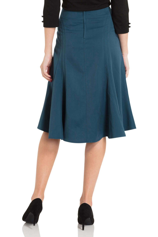 Melanie Longline Bell Skirt