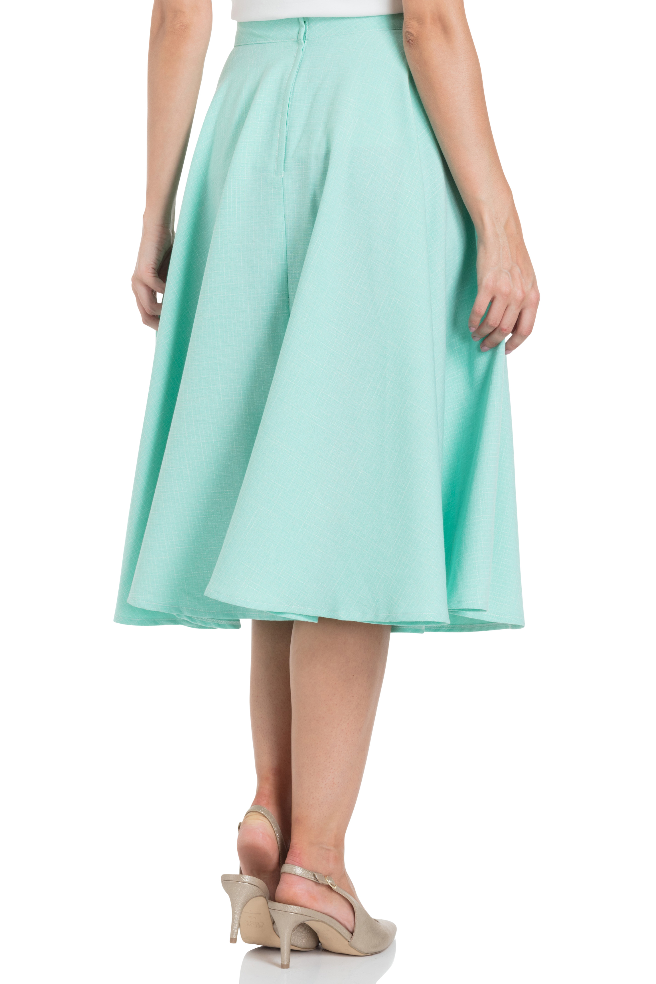 Sandy Mint Full Circle Skirt