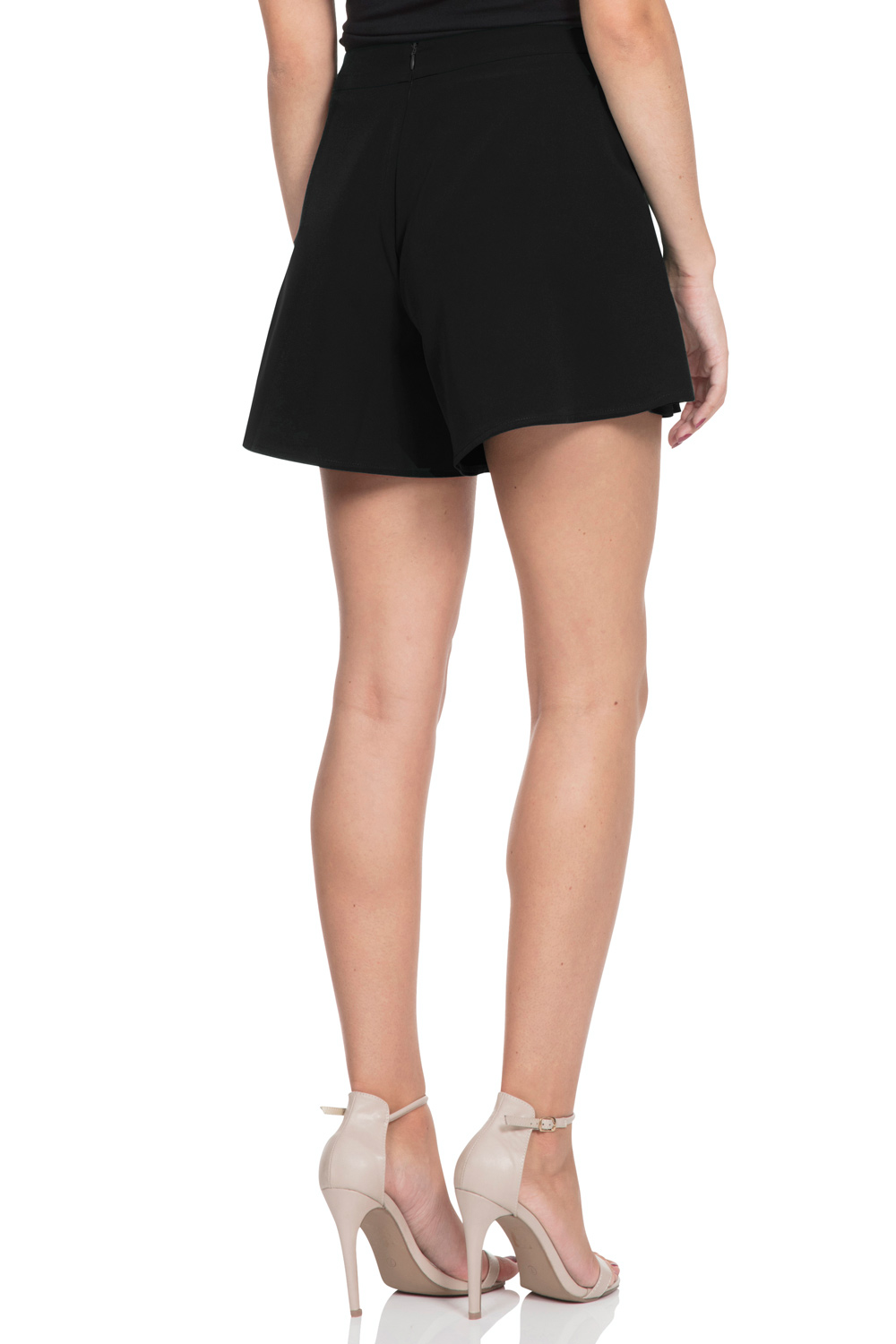 Mary Black Swing Shorts