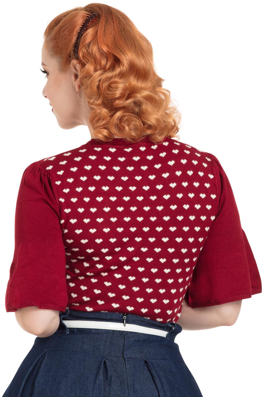 Maggie Flutter Sleeve Sweater
