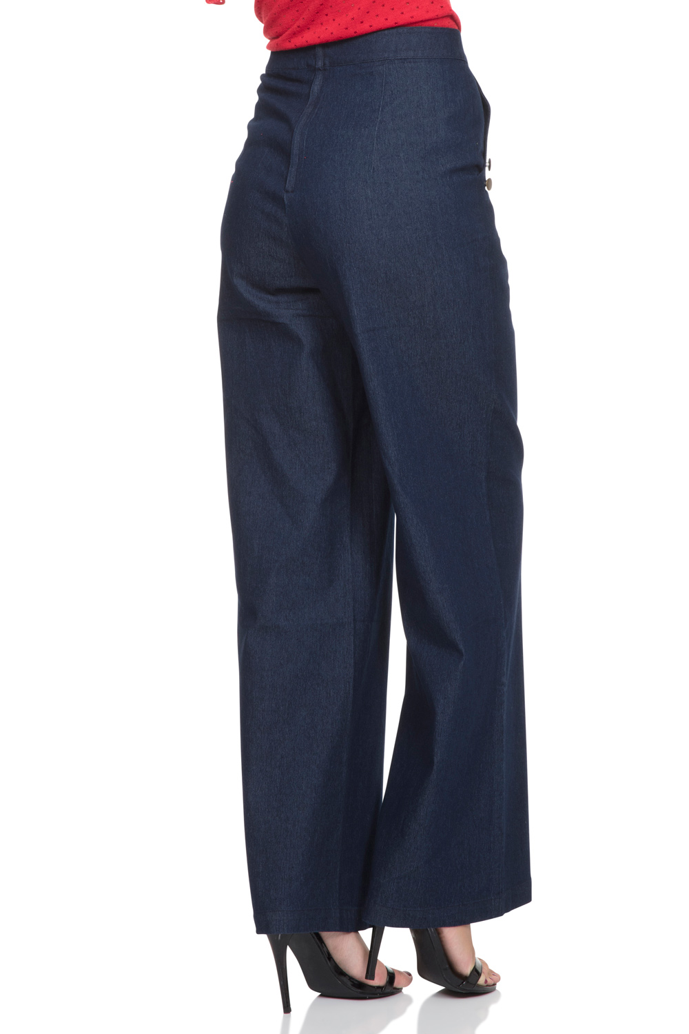 Samantha 40's style Denim Trousers