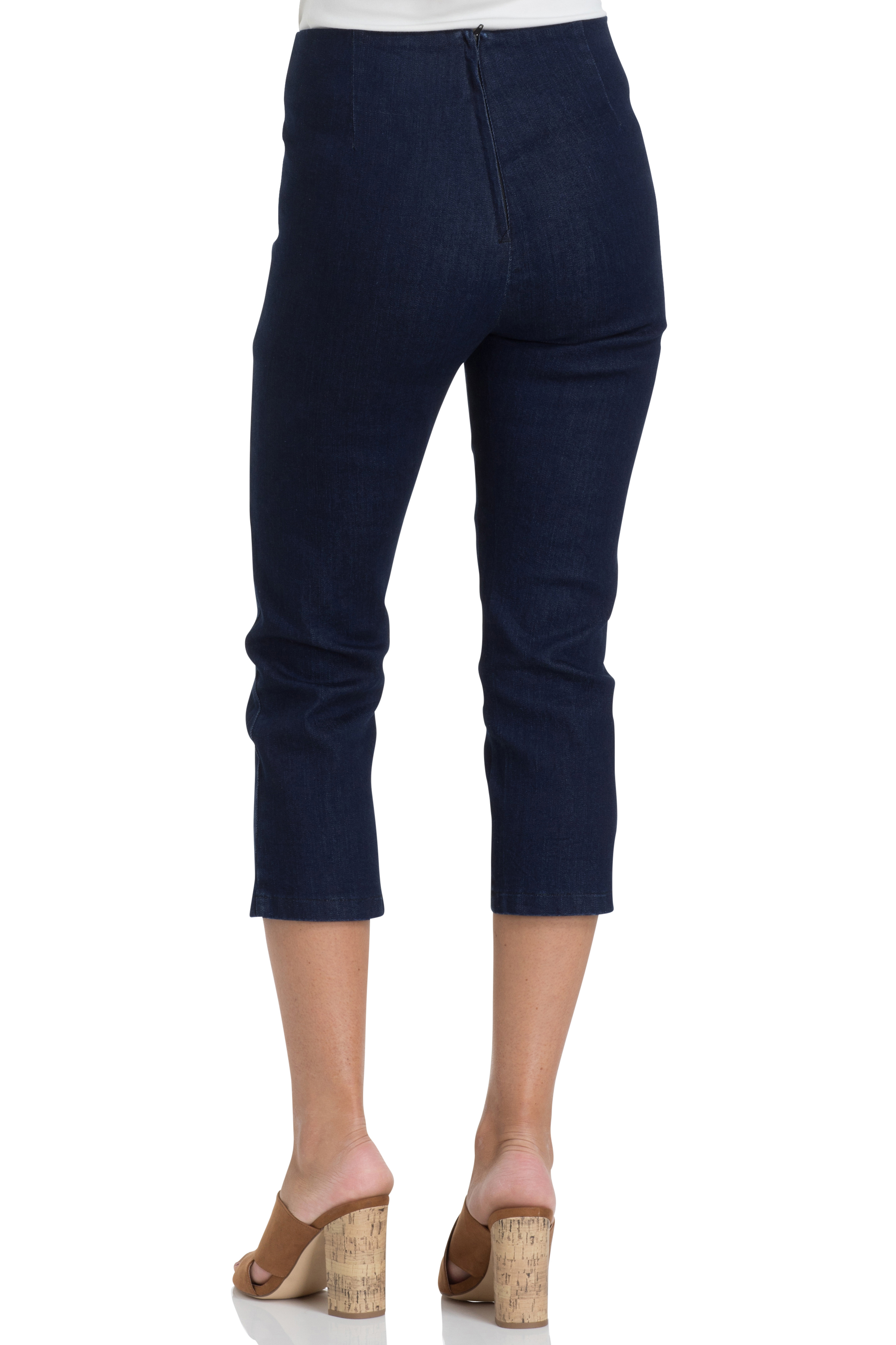 Susie Denim Capri Pants
